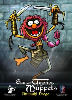 Kermit the Stark! These Game of Thrones Muppets are mashup masterpieces, by artist Yehudi Mercado. (via Robot Mutant) Anne Hathaway, Captain America, The Muppet Show, Mary Sue, Jim Henson, Kermit, Winter Is Coming, Dc Comics, Geek Stuff