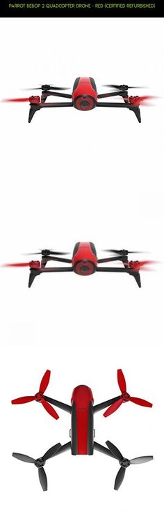 Parrot Bebop 2 Quadcopter Drone - Red (Certified Refurbished) #shopping #racing #plans #drone #products #2 #drone #technology #parts #tech #gadgets #fpv #kit #camera #parrot