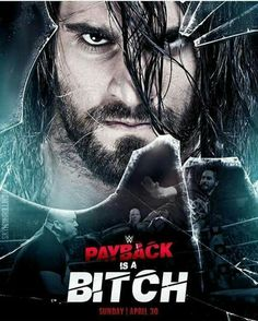 Seth Rollins !! Es el póster oficial de Payback. Wwe Seth Rollins, Seth Freakin Rollins, Wwe Ppv, Surf Tattoo, Best Wrestlers, Burn It Down, Lucha Underground, Wwe Pay Per View, Wwe Roman Reigns