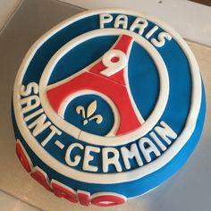 PSG Paris Saint-Germain birthday cake, gâteau d'anniversaire