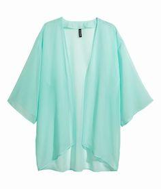 Blusa verde menta H&M - Tendenza colori pastello primavera 2014