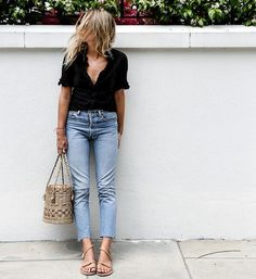 130 Inspiring Simple Casual Street Style Outfit that Must You Copy Fashion Me Now, Look Fashion, Fashion Outfits, Luxury Fashion, Fashion Trends, Trendy Fashion, Fashion Tag, Fashion Couple, Classy Fashion