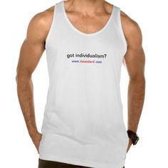 Got Individualism? Tank Top Tank Tops