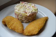 Cuketový salát Salads, Muffin, Food And Drink, Pizza, Cooking Recipes, Vegetarian, Cheese, Breakfast, Fitness