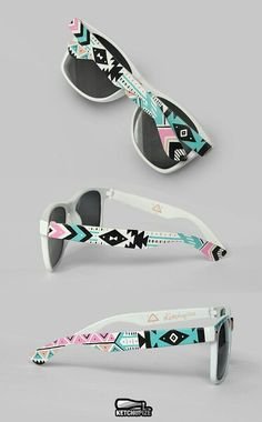 Wonder of i could do this to my sunglasses...
