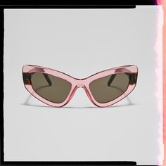 It's crystal clear: the see-through trend for spring has landed. Get the statement look in these bold-colored Prada shades and discover all the on-trend styles in the transparencies edit. Cool Sunglasses, Cat Eye Sunglasses, Sunglasses Women, Dope Fashion, Womens Fashion, Fashion Trends, Sunglass Hut, See Through, Bold Colors
