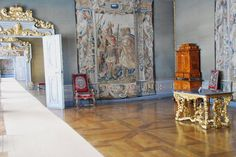 The New Residenz in Bamberg, Germany Interior and staterooms