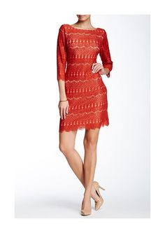 Lace Sheath Dress - was $128.0, now $49.97 (61% Off). Picked by mickster @ Nordstrom Rack