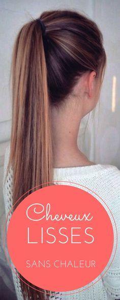 26 Idées De Cheveux Lisses Cheveux Cheveux Lisse Astuce Cheveux