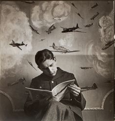 Photo from 'Winged Squadrons' by Cecil Beaton, 1942, via PeterHarrington.co.uk