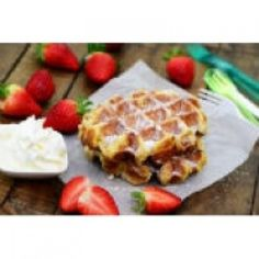 Crunchy, buttery, traditional Belgian Liège waffles that'll satisfy any craving.