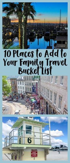 10 Places to Add to Your Family Travel Bucket List #bahamasdivingdestinations