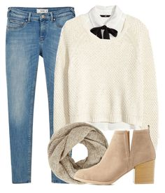"""""""Warm"""" by alexandra-provenzano ❤ liked on Polyvore featuring H&M, MANGO, John Lewis and Charlotte Russe"""