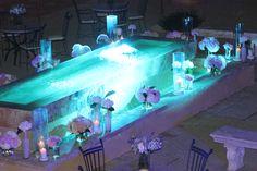 light effects in water....