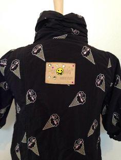 a2620fdcd86 Per Me Women s Jacket Coat Black Designer Bling Small Italy 42 Italian Size   PerMe