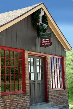 Tour the original Santa Claus Post Office during your visit to the Santa Claus Museum & Village in Santa Claus, Indiana. Write a free letter to Santa, too! All letters are answered by Santa's Elves.