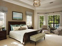 Neal Signature Homes Master Bedroom in the Dominica II model at The Concession. #theconcessionrealestate #nealsignaturehomes