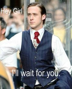 Catholic Ryan Gosling...if only!!! Le sigh.