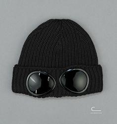 CP Company Goggle Rib Beanie (CPU0213 001288 895) - Caliroots.com