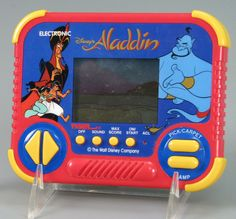 Tiger handheld Aladdin game. Blip bloop!