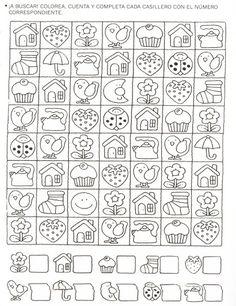 123 Manía: actividades de matemática para imprimir, resolver y colorear - Betiana 1 - Álbumes web de Picasa