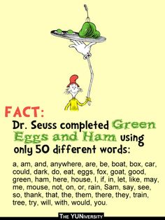 216 Best Green Eggs And Ham Images On Pinterest