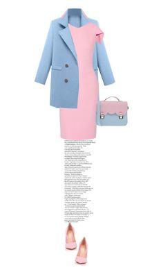 Pastel Colors by brennnda on Polyvore featuring polyvore fashion style Antonio Berardi Gianvito Rossi La Cartella women's clothing women's fashion women female woman misses juniors