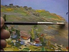 Impasto Painting with a palette knife Part 3 by Alex Perez
