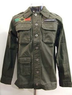 Addidas Bob Marley Tuff Gong Military Jacket. This jacket is hard to find but last I checked Etsy had them for $90. Just an awesome Rasta jacket. Find here: http://www.etsy.com/listing/166748464/adidas-mens-bob-marley-cotton-jacket?utm_source=google&utm_medium=product_listing_promoted&utm_campaign=vintage_mid&gclid=CNra2u_8jLsCFYQ7OgodplUATw