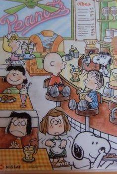 Peanuts gang...
