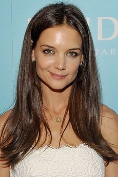 The Hottest Long Hairstyles & Haircuts For 2014 - Katie Holmes