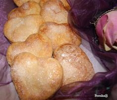 Bernika - mój kulinarny pamiętnik: Kruche ciasteczka serduszka