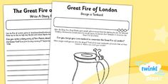 PlanIt - History KS1 - The Great Fire of London Home Learning Tasks