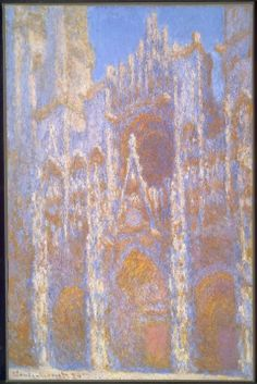Claude Monet, Rouen Cathedral, Façade, 1894.