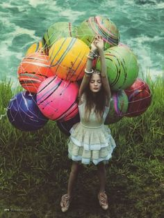 She wanted to explore new lands, have exotic adventures, and experience sensual relationships, but her balloons would not take flight, therefore her feet and dreams remained grounded.