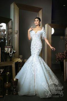 Ideas For Wedding Gown 2018 Philippines wedding gown Ideas For Wedding Gown 2018 Philippines Modern Filipiniana Gown, Filipiniana Wedding Theme, Philippines Dress, Bridal Gowns, Wedding Gowns, Debut Dresses, Filipino Wedding, Filipino Fashion, Traditional Dresses