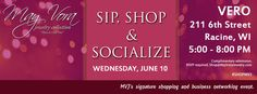 Join us for the return of our signature shopping event Sip, Shop, & Socialize right in our hometown of Racine, WI!  Sip a lovely beverage at Vero International Cuisine Shop our 2015 Spring/Summer Collection Mix and mingle with professional ladies and gentlemen  RSVP here https://www.facebook.com/events/915233748539770/  #ShopJewelry #ShopSmall #ShopLocal #Racine