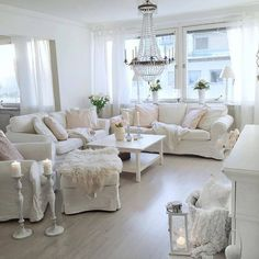 Shabby Chic Bedroom Chairs - Shabby Chic Bedroom Chairs , Room Design and Decoration Shabby Chic Decor Ideas Living Room Decor Cottage Living Rooms, Living Room White, White Rooms, Living Room Colors, Living Room Interior, Living Room Designs, Living Room Decor, Shabby Chic Bedroom Chair, Bedroom Decor