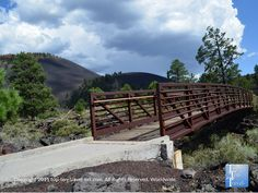 A scenic walk along the Lava Flow trail at Sunset Crater National Monument #Arizona #travel