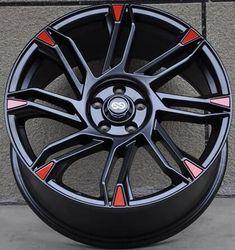 Beautiful 18x8.0 5x120 Car Alloy Wheel Rims fit for BMW #RimsforCars