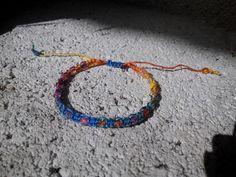 Mirtusz: Makramé - 1. lecke :D   Színes Karkötő Friendship Bracelets, Beaded Bracelets, Jewelry, Jewlery, Jewerly, Pearl Bracelets, Schmuck, Jewels, Jewelery