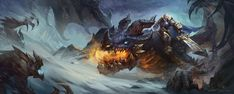 Eragon, Xuexiang Zhang on ArtStation at https://www.artstation.com/artwork/eragon