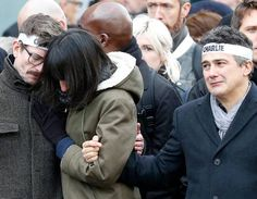 Galerie de photos : EN IMAGES : marée humaine à Paris - La Libre.be #Jesuischarlie #charliehebdo