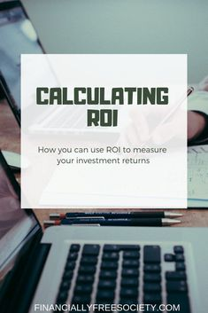 Learn what return on investment is and how you can use it to measure your current invesment returns. ROI is a key measure for profitable investors! Real Estate Investment Fund, Real Estate Investing, Investment Property, Stock Market Investing, Investing In Stocks, Investing Money, Retirement Advice, Investing For Retirement