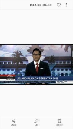 Rizki Aziz, a local News Presenter in Indonesia