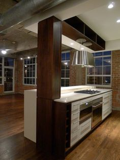 10 Glass windows Design Ideas from Houston Loft by CONTENT Architecture, Houston Loft is nice loft that is placed in Houston, Texas, USA. The loft is designed Beautiful Kitchens, House Design, House, Houston Apartment, Home, Remodel, Loft Designs, Window Design, Loft Kitchen