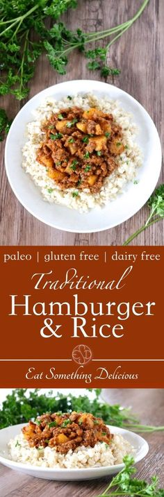 """Hamburger & Rice 
