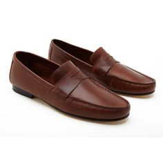 Marco Leather Moccasins - Shoes - Men