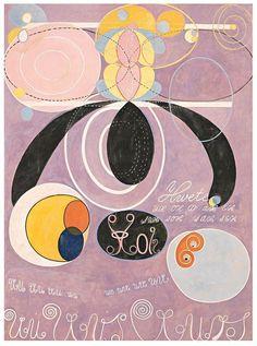 "crtbb:  "" Logarithmic spirals and tendrils represent evolution  Hilma af Klint  """