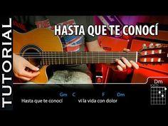 Cómo tocar Hasta Que Te Conocí - Juan Gabriel en guitarra tutorial - YouTube